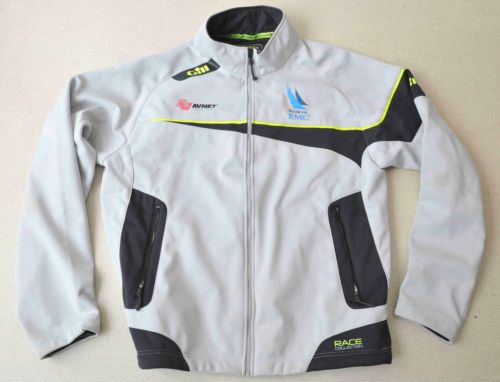 GILL-RACE-COLLECTION-SOFTSHELL-SAILING-JACKET-SIZE-LARGE-GOOD-USED-CONDITION