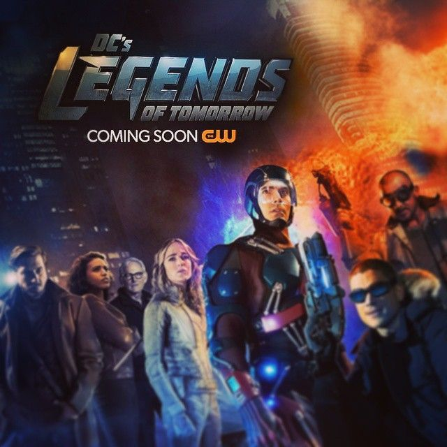#The30DaysofChannelSurfing Day 27: Upcoming show you're excited for - #dcslegendsoftomorrow