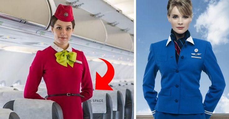 ¿Por qué las azafatas llevan las manos atrás al recibir a los pasajeros? La razón es muy sencilla, basta ser un poco observadores para notarlo a simple vista
