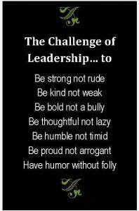 The Challenge of Leadership... Jim Rohn