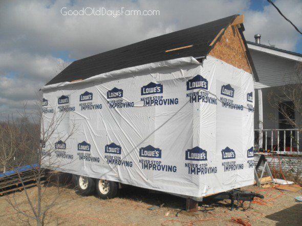 как построить крошечный дом, строительство крошечный домик, построить дом, крошечный строительные планы крошечный дом