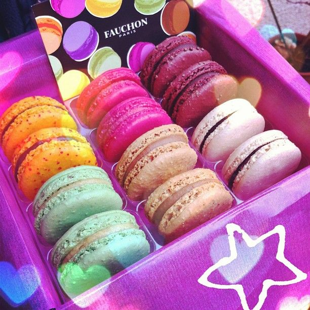 Sweets - Macarons Fauchon, Paris