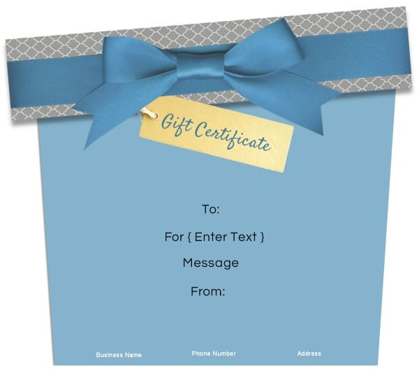23 best gift certificates images on pinterest free gift gift shaped gift certificates customize onlineee instant download yadclub Images