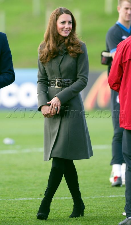 Prince William Kate Middleton Duke of cambridge duchess of cambridge london uk soccer football