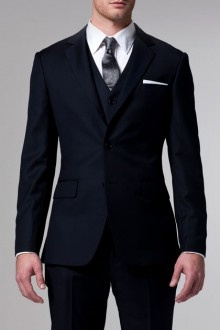 The Essential Navy 3 Piece Suit