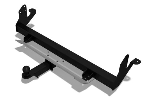 Tow bar with protection bumpers Land Rover Freelander