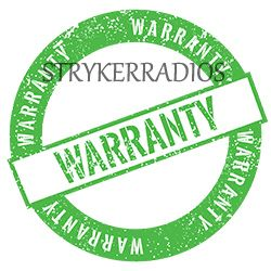 Warranty Policies for Strykerradio 10 meter radio comes from factory with a limited 1 year limited factory Warranty