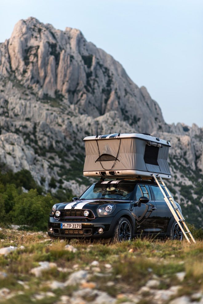 The MINI Countryman ALL4 Camp