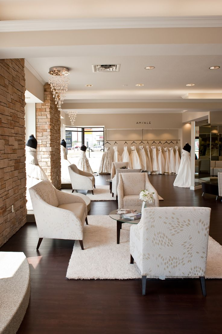 Interior of One Fine Day Bridal and Gown Boutique