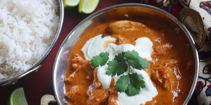 Butter Chicken - Julie Goodwin Recipe - this is a quick and easy version of butter chicken - just right for weeknight dinners.