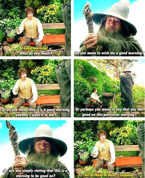 Gandalf Is Ridiculously Quotable! Heu0027s Like My Go