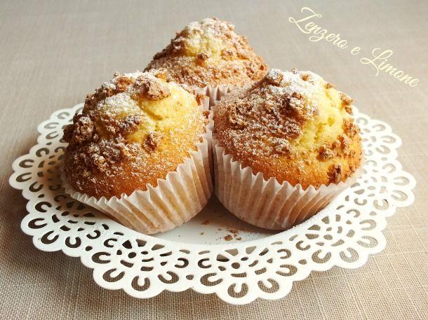 muffins agli amaretti sono delle piccole tortine morbide e golose,.