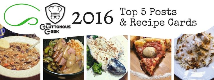 2016 is gone and over. To thank you for your support, I've made up recipe cards for this past year's Top 5 posts! Continue Reading →