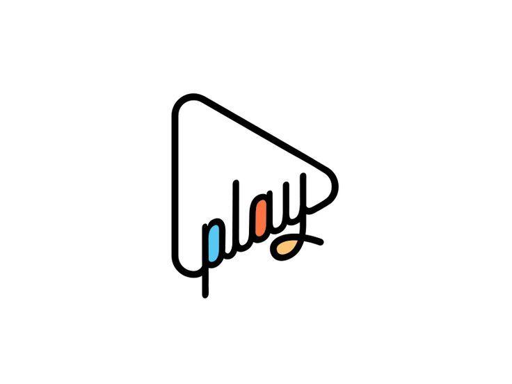 Play Music Logo Design | Typography Design