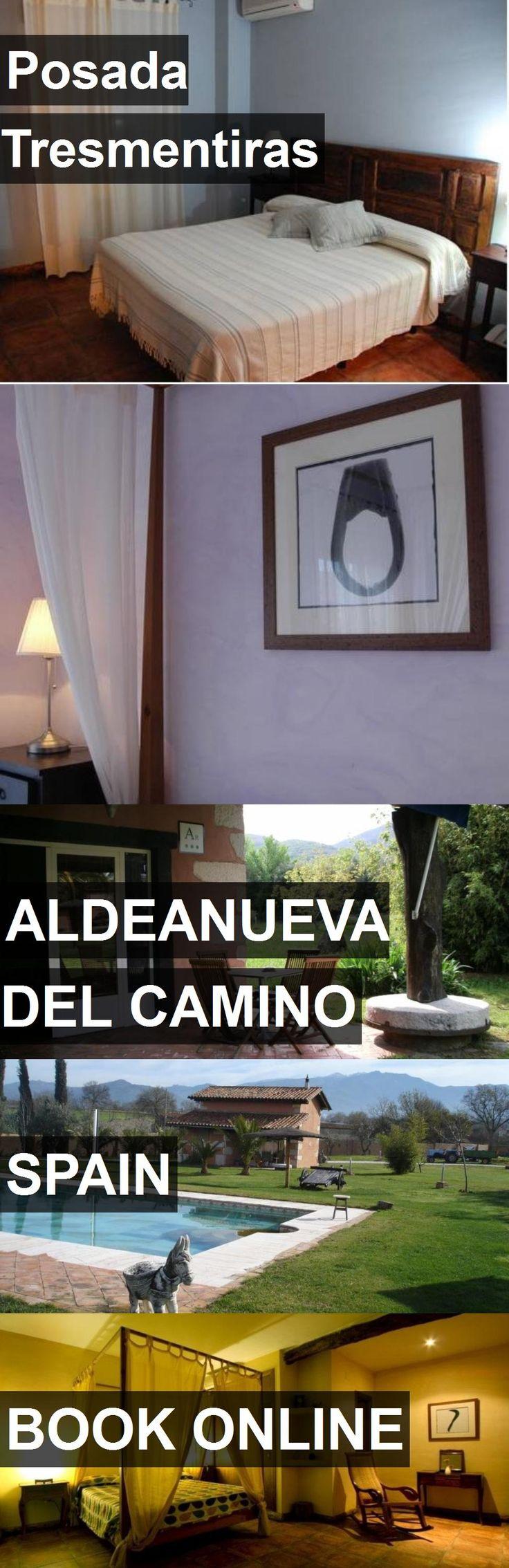 Hotel Posada Tresmentiras in Aldeanueva del Camino, Spain. For more information, photos, reviews and best prices please follow the link. #Spain #AldeanuevadelCamino #hotel #travel #vacation