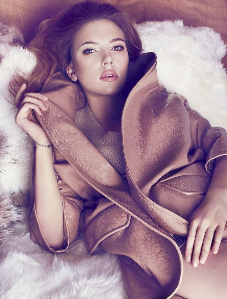 Scarlett Johansson for Marie Claire Magazine (May 2013)