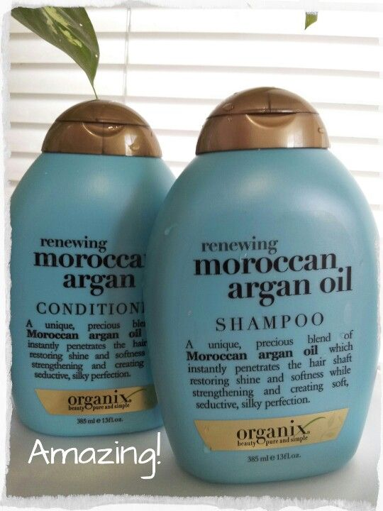 My hair was DAMAGED, overworked for bleach, coloring and flat iron. I used pantene, sedal etc but these products not help my hair. Whit one use of shampoo and conditioner Moroccan argan oil of Organix, my hair is REPAIRED. Really works!