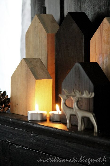 ★wooden houses decoration