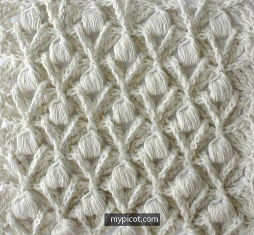 MyPicot | Free crochet patterns tığ işi örnek şal v.b.