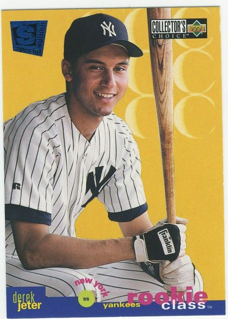 DEREK JETER Rookie Card PICTURES PHOTOS and IMAGES
