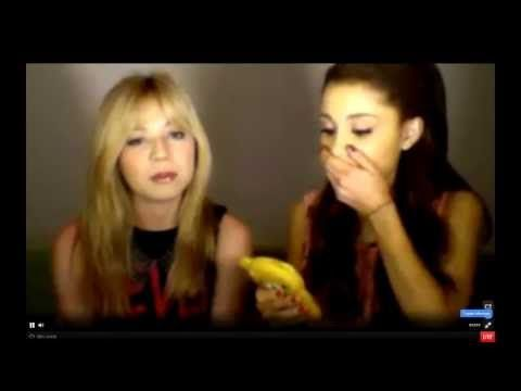 ARIANA GRANDE'S PHONE NUMBER + SAM AND CAT THEMETUNE - LIVESTREAM (6/6/2013)