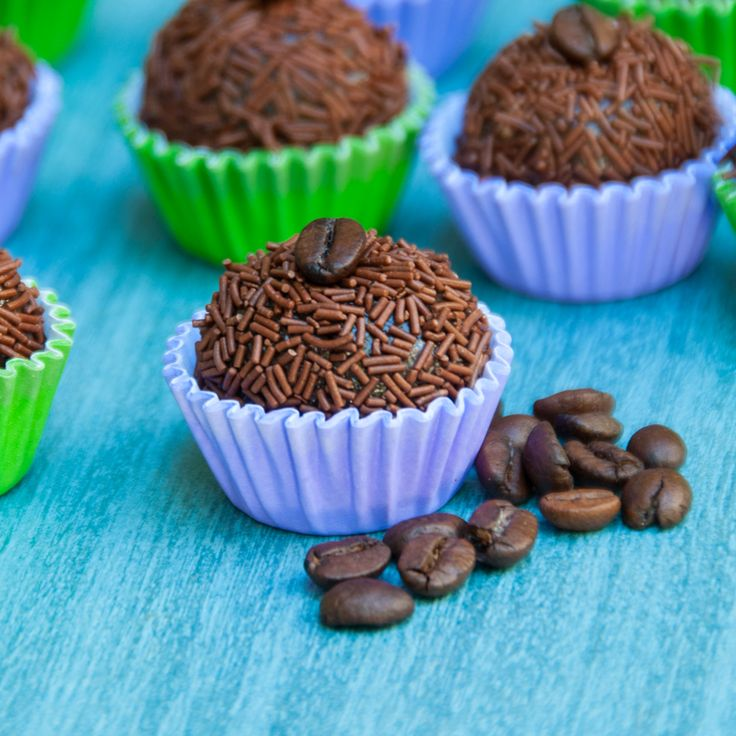 Your guide to the perfect viewing party for the 2016 Summer Olympic Games in Rio - TerraneaLife -  Chocolate Espresso Brigadeiros