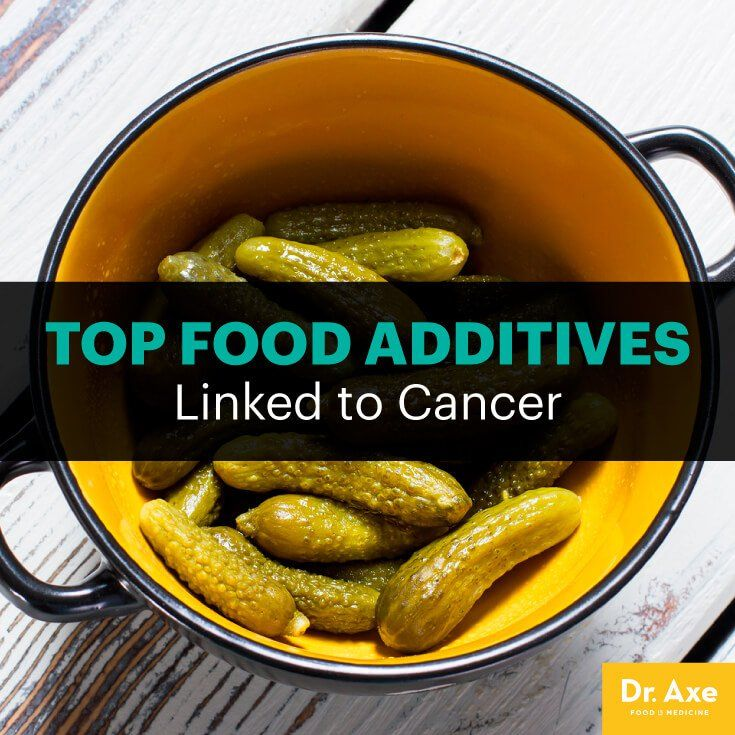 Food additive and colon cancer - Dr. Axe  http://www.draxe.com #health #holistic #natural