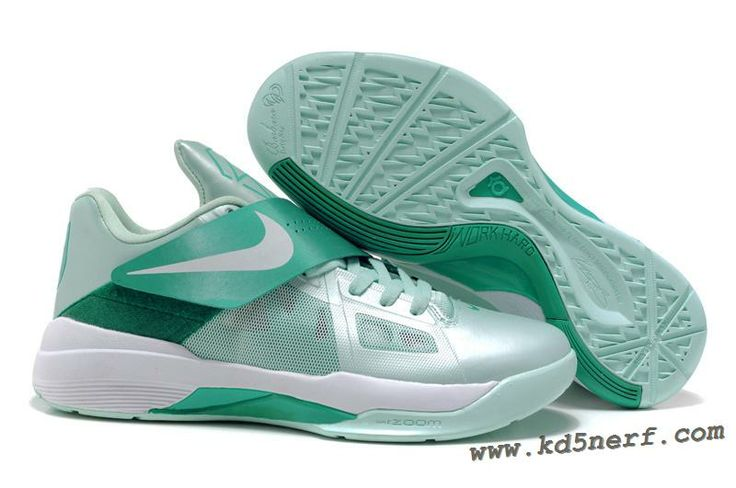 Hot Nike Zoom KD 4(IV) Kevin Durant Shoes Mint Candy