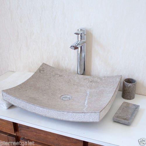 evier salle de bain en pierre naturelle salle de bains inspiration design. Black Bedroom Furniture Sets. Home Design Ideas