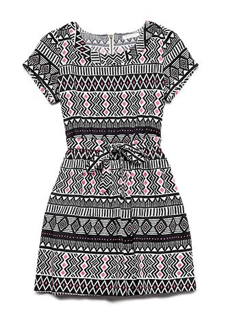 Global Girl Dress (Kids) | FOREVER21 girls - 2000064329