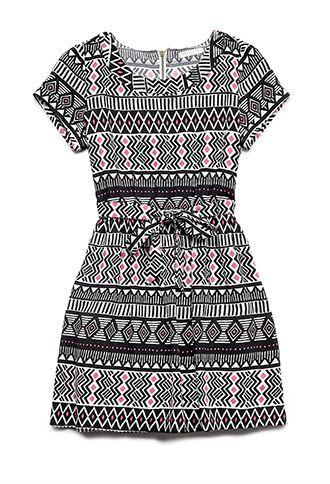 Global Girl Dress (Kids) | FOREVER21 girls - 2000064329