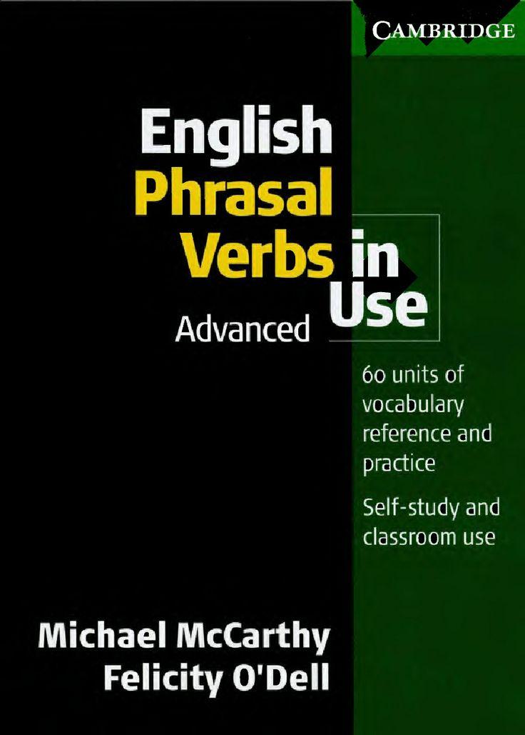 English Phrasal Verbs in Use - Advanced | Scribd
