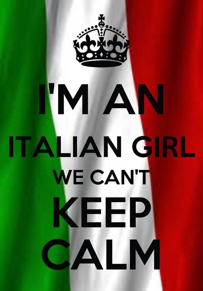 Italian Flag....totally me!!!