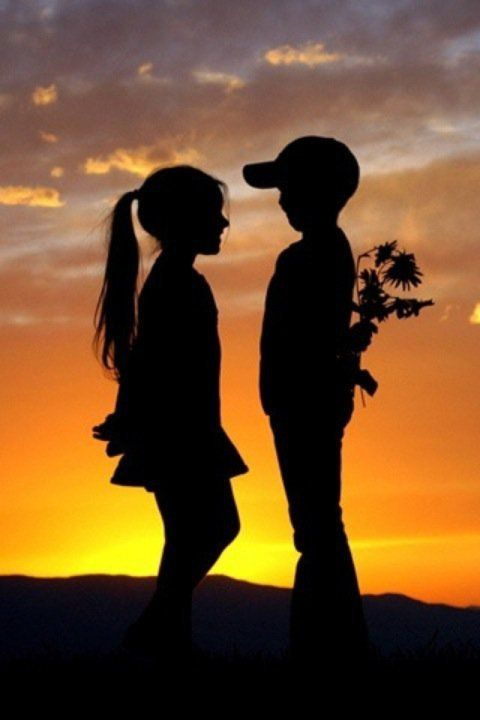 Love needs basics.... Let your love in ure heart be young forever and be excited to see your love once..