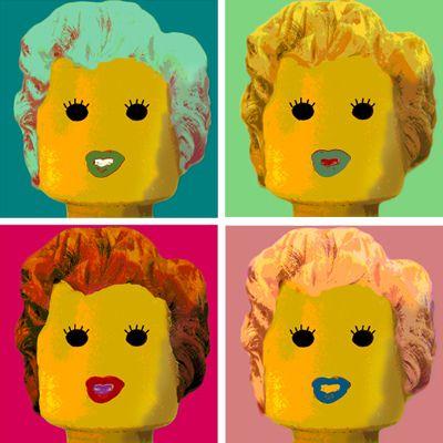 Lego Andy Warhol