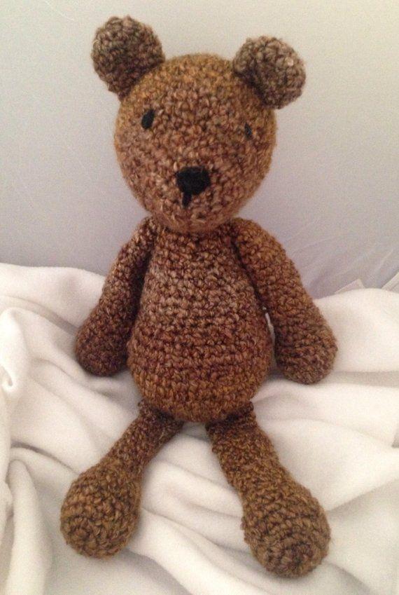 Buffalo Plaid Teddy Bear Original Handmade Teddy Bear