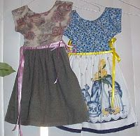 Step by Step Crafting Lessons: Oven Dress....thanks to Deb