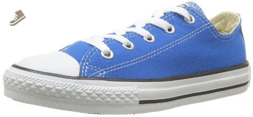 Converse Childrens Chuck Taylor® All Star Lo Seasonal,Electric Blue Lemonade,US 3 M - Converse chucks for women (*Amazon Partner-Link)