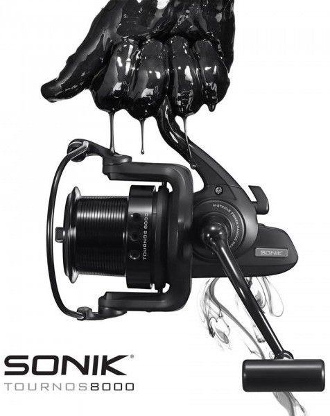 Nice ad for Sonik Tournos carp reel