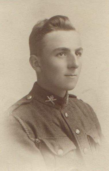 CEF (Canadian Expeditionary Force) Soldier Syd Simpson WW1