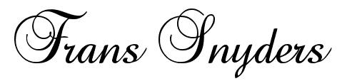 Baroque Script Font
