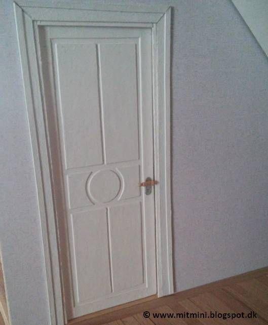 how to: miniature door and door handle