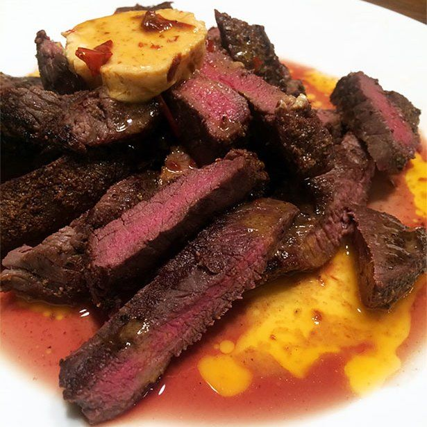 10 Mouthwatering Elk Recipes like this one: Elk Rump Roast with Chipotle Butter