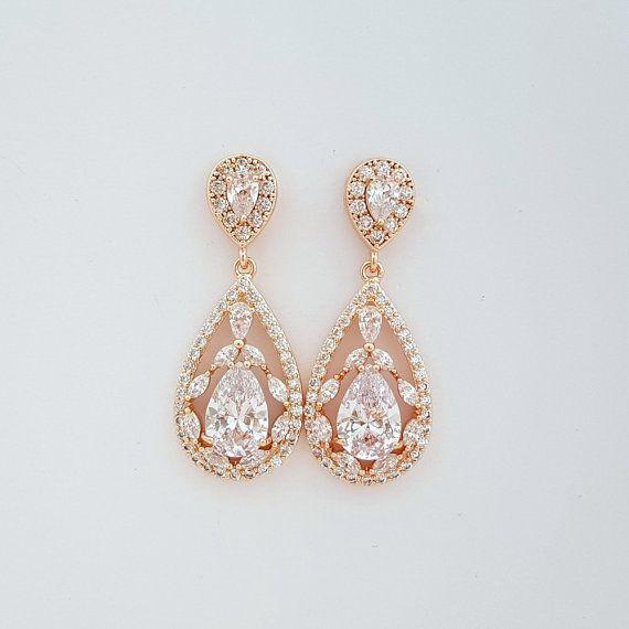 Brautschmuck ohrringe hängend  Die besten 10+ Ohrringe gold perle Ideen auf Pinterest | D&g ...