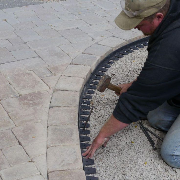 Homify S Best Garden Edging Tips And Ideas: 25+ Best Ideas About Paver Edging On Pinterest