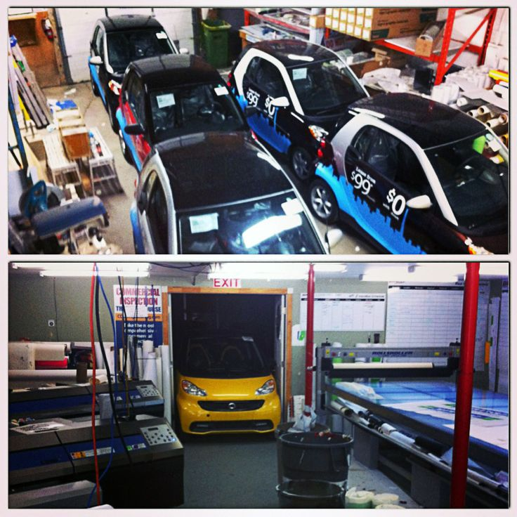 Parking the fleet for temporary storage.