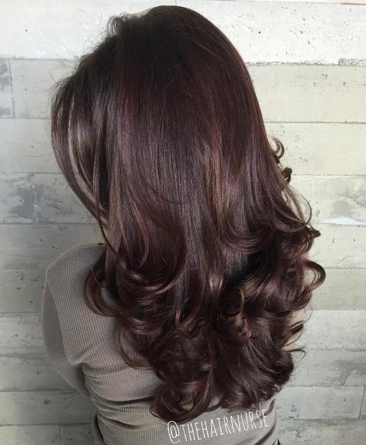Long Layered Hairstyle With Curled Ends--NICE COLOR