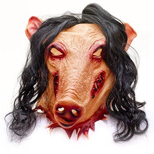 Horror Schweinemaske Pig Schweine Latex Maske Schwein SAW... https://www.amazon.de/dp/B011NKSTCG/ref=cm_sw_r_pi_dp_x_4eMbyb0RR4Z15