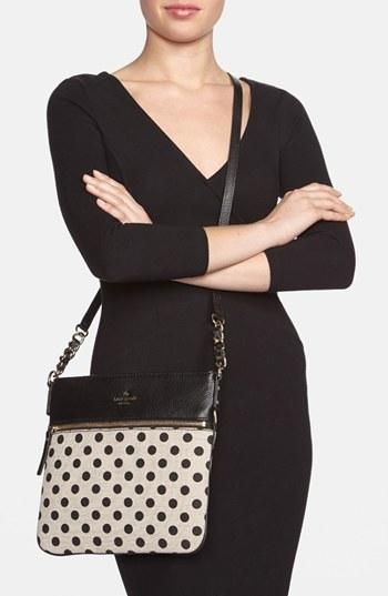 Seeing spots! Love this Kate Spade crossbody.