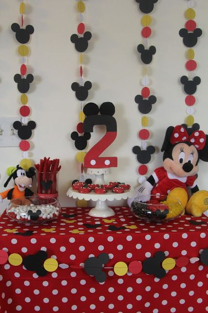 Decorating the Dorchester Way: Simple Red Minnie Mouse Birthday Party